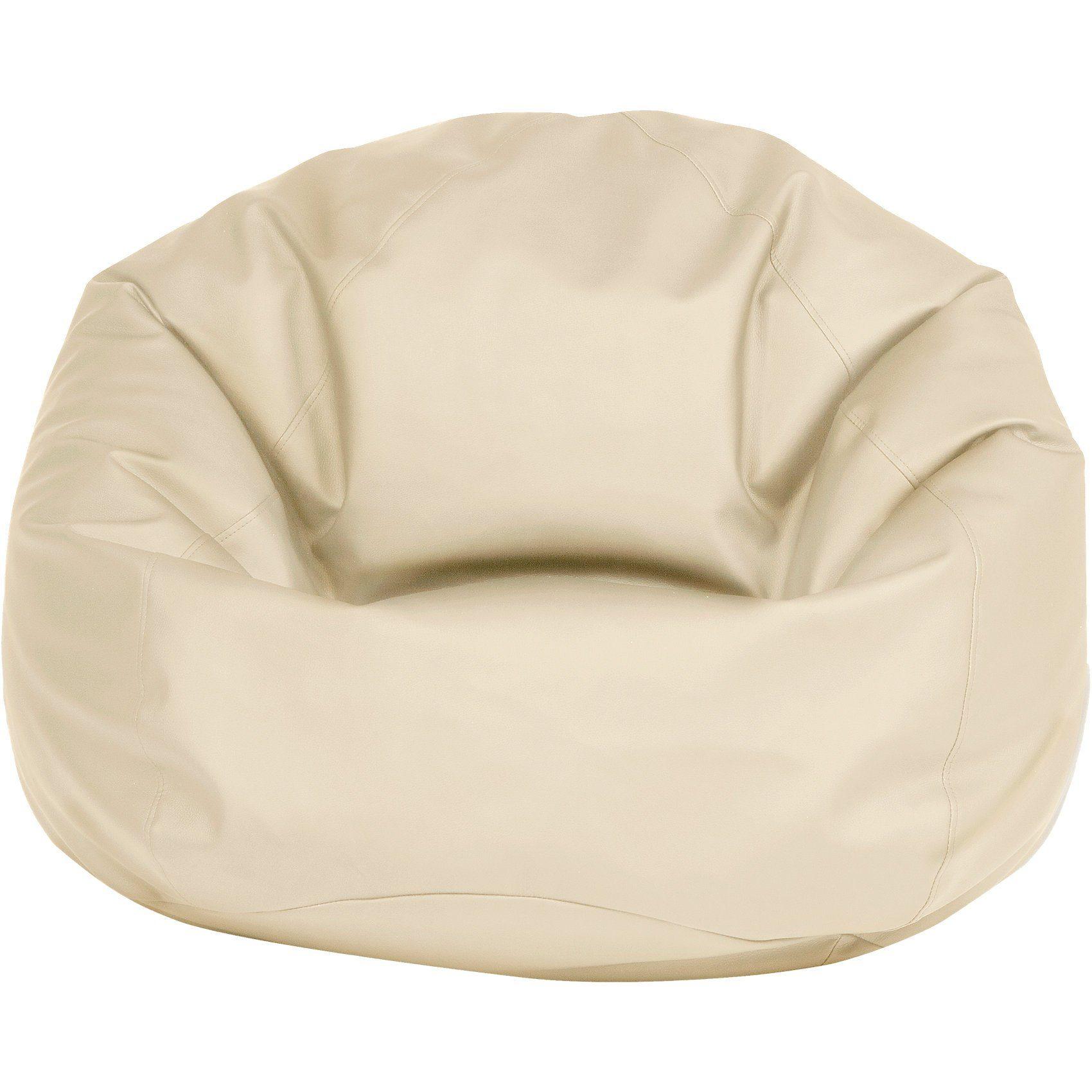 Sitzsack BAG 300, Kunstleder, beige