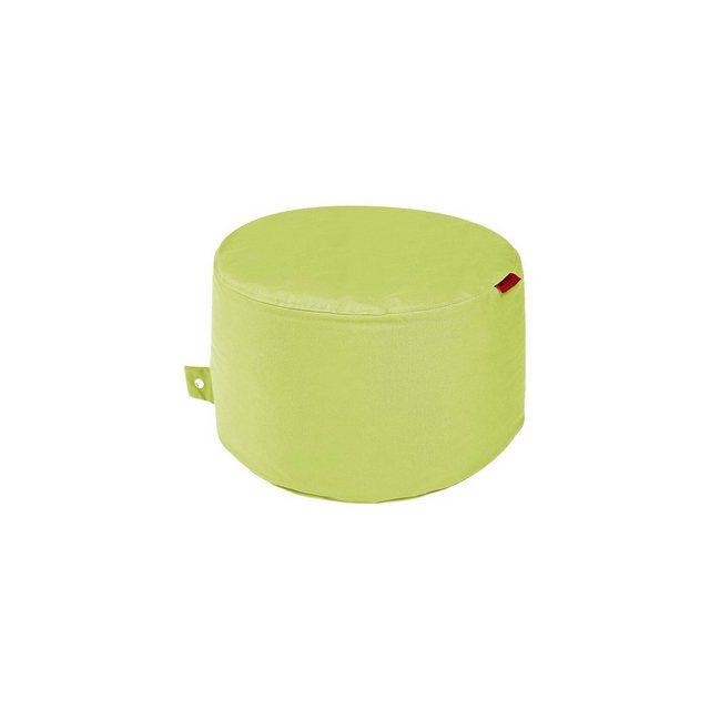 OUTBAG Rock Sitzsack Hocker Tisch plus lime/hellgrün (1 Stück)