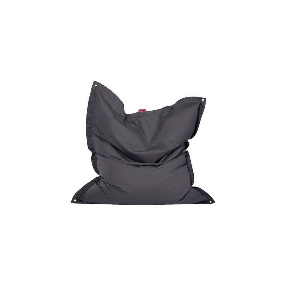 Outdoor-Sitzsack Meadow, Plus, anthrazit in schwarz