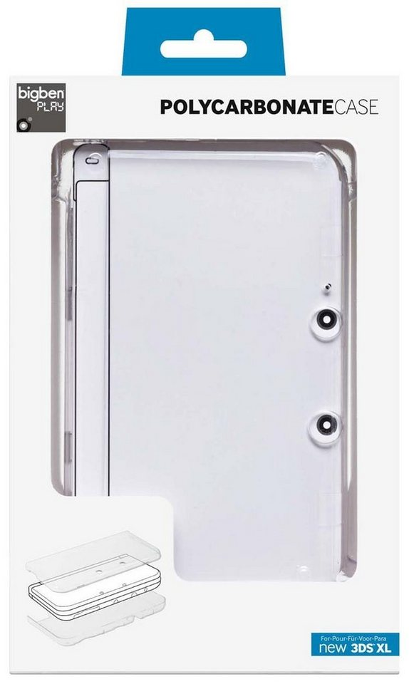 BIGBEN Polycarbonat Case (crystal) new 3DS XL »(3DS)«