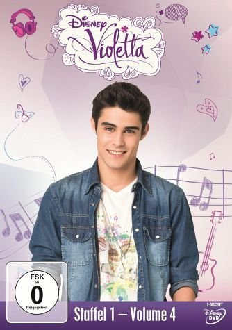 DVD »Violetta - Staffel 1. Volume 4«
