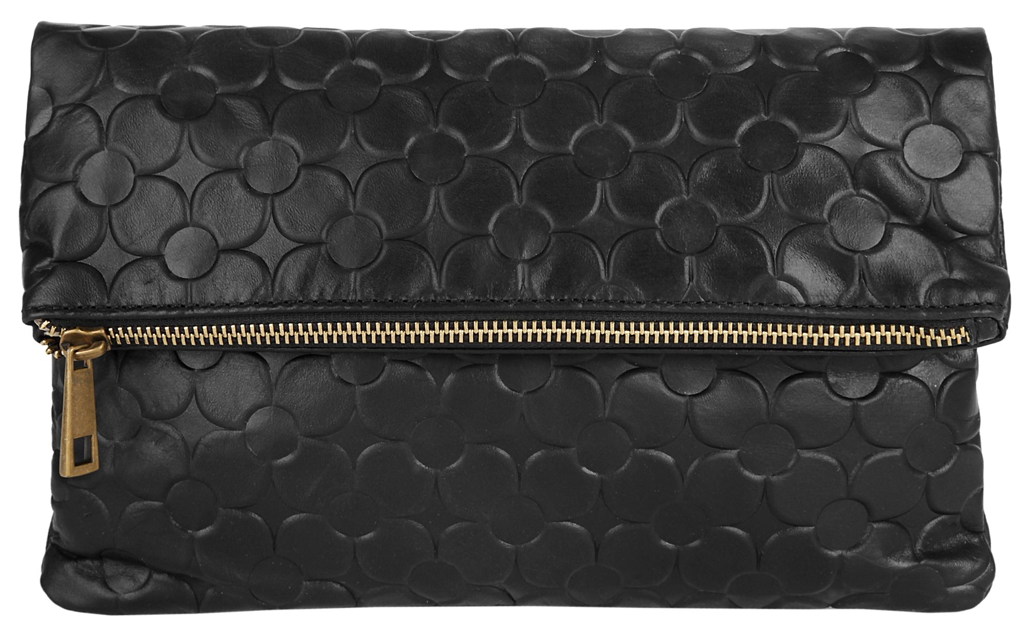 Samantha Look Leder Damen Clutch