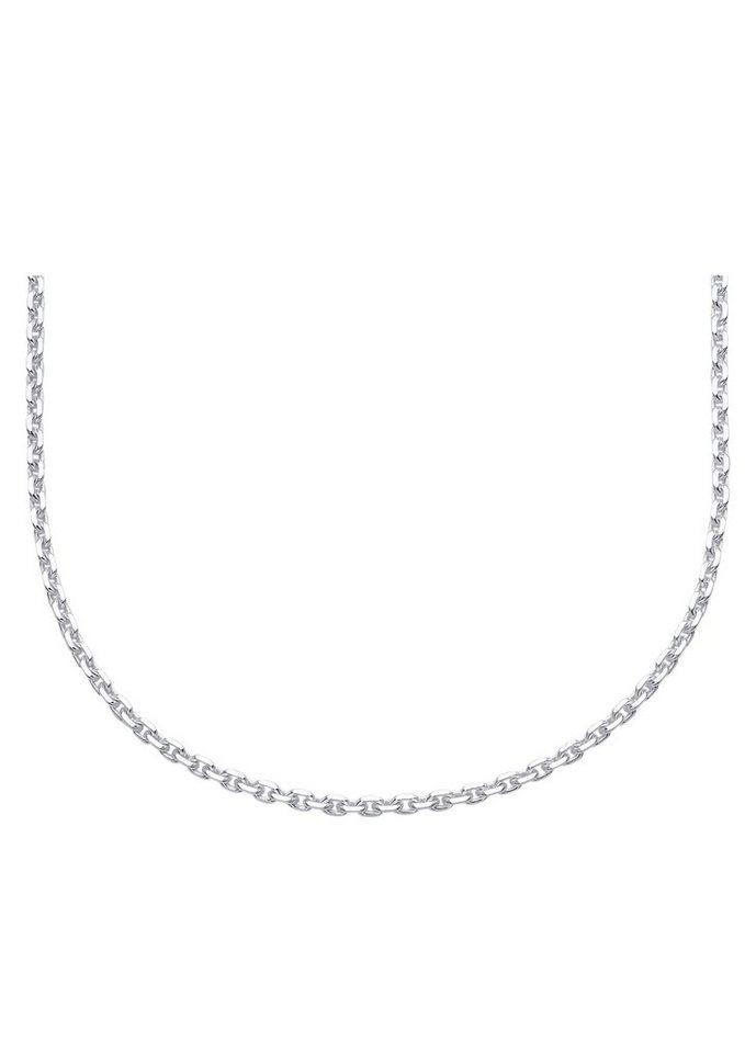 firetti Halsschmuck: Halskette / Collierkettchen in Ankerkettengliederung in Silber 925