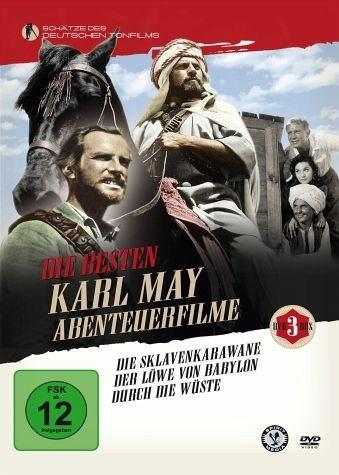 DVD »Die besten Karl May Abenteuerfilme (3 Discs)«
