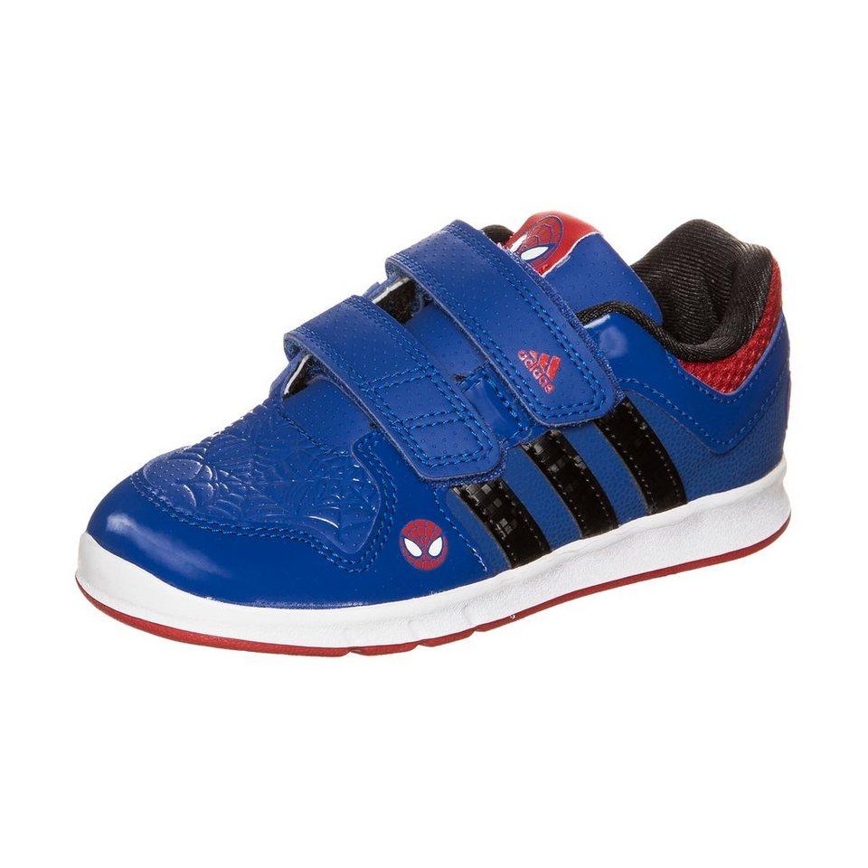 adidas Performance Spiderman Trainingsschuh Kleinkinder in blau / weiß / rot