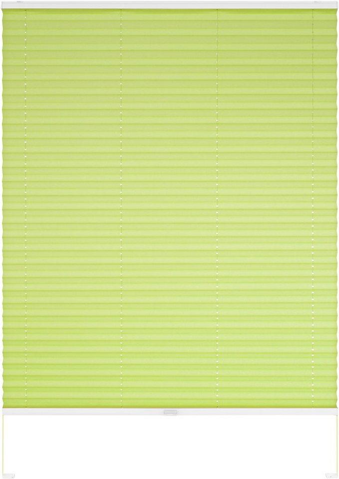 Dachfenster-Plissee, Good Life, »Dena«, nach Wunschmaß, Lichtschutz in apfelgrün