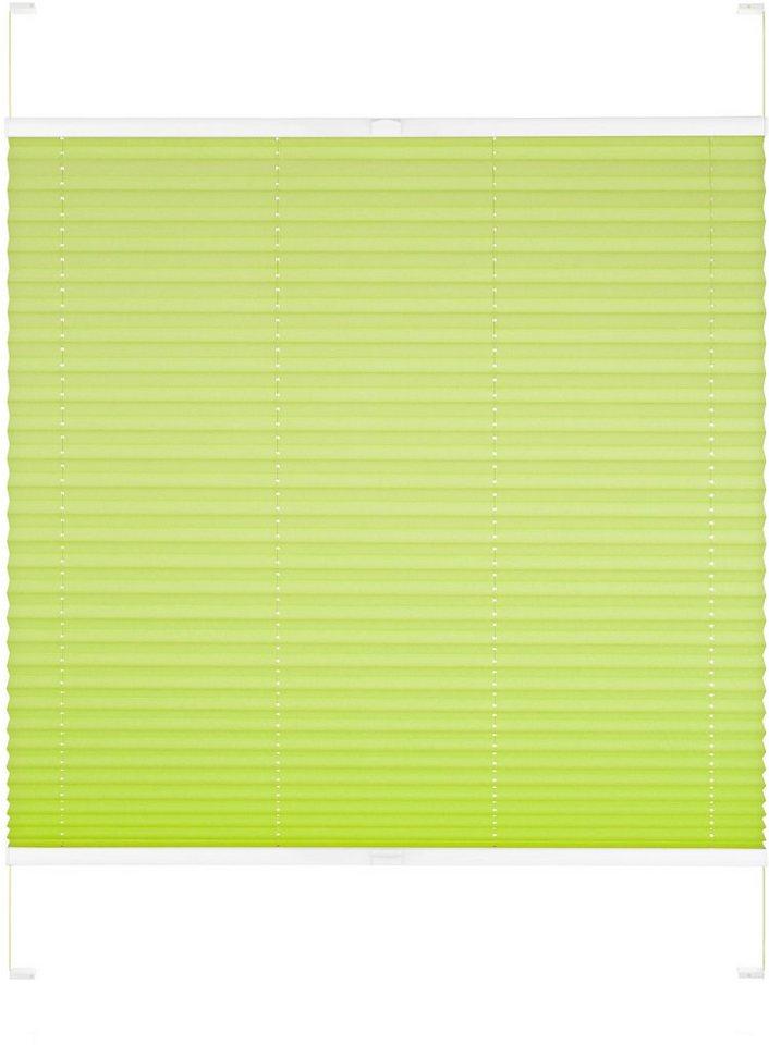 Dachfenster-Plissee, Good Life, »Dena«, nach Wunschmaß, Perlreflex in apfelgrün