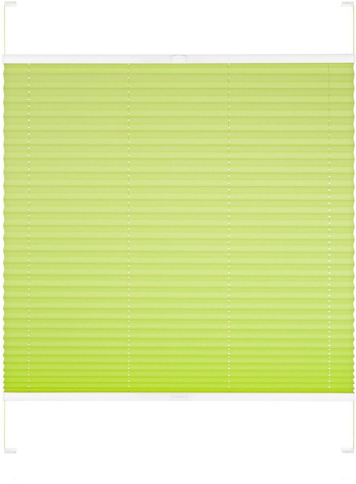 Dachfenster-Plissee, Good Life, »Dena«, nach Wunschmaß, Verdunkelung in apfelgrün