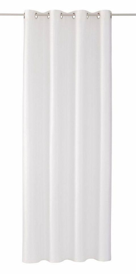 Vorhang, Tom Tailor, »Handdrawn Stripes«, mit Ösen (1 Stück) in weiß