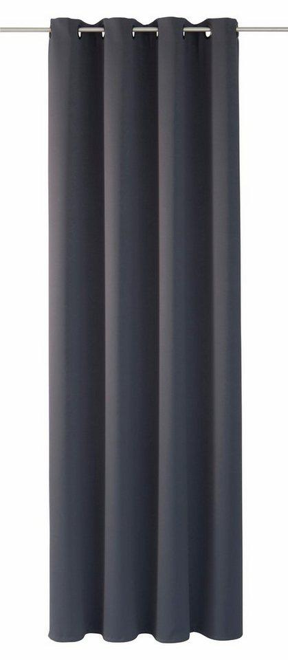 moderne gardinenvorhange eindrucksvollem effekt, vorhang »thermal black out«, moondream, Ösen (1 stück, Design ideen