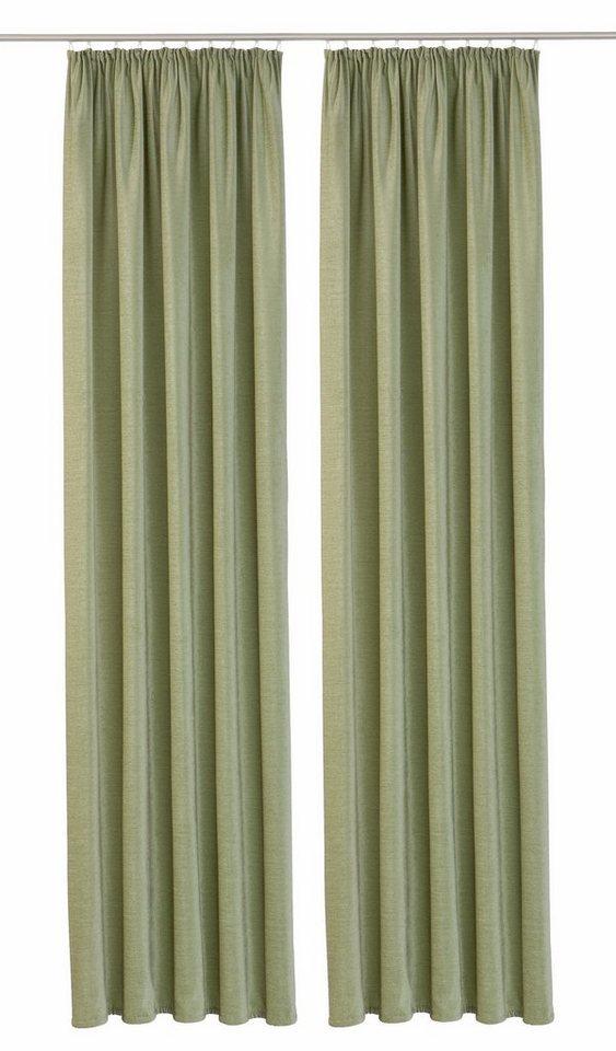 Vorhang, Vhg, »Amy« (2 Stück) in mintgrün