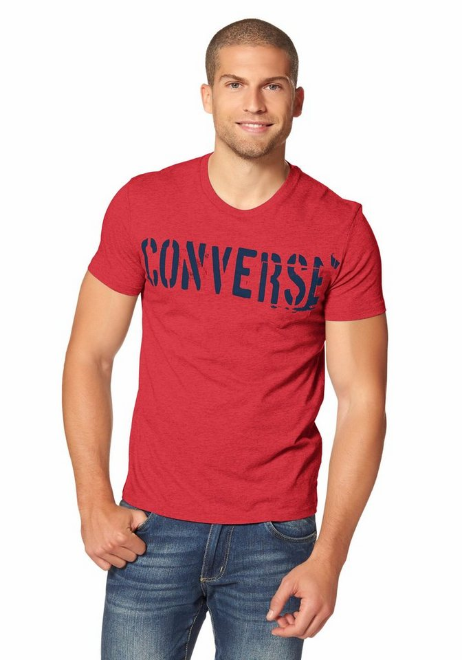 Converse T-Shirt in Rot