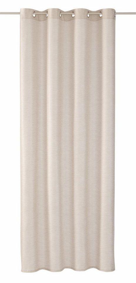 Vorhang, Tom Tailor, »Handdrawn Stripes« (1 Stck) in beige