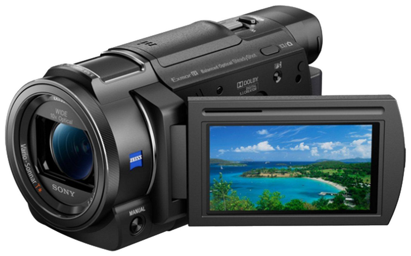 Camcorder - Sony »FDR AX33« Camcorder (4K Ultra HD, WLAN (Wi Fi), NFC, 10x opt. Zoom, My Voice Cancelling, CinemaTone, Golf Shot, Aufnahmeautomatik, Smile Shutter, fließende Zeitlupe)  - Onlineshop OTTO