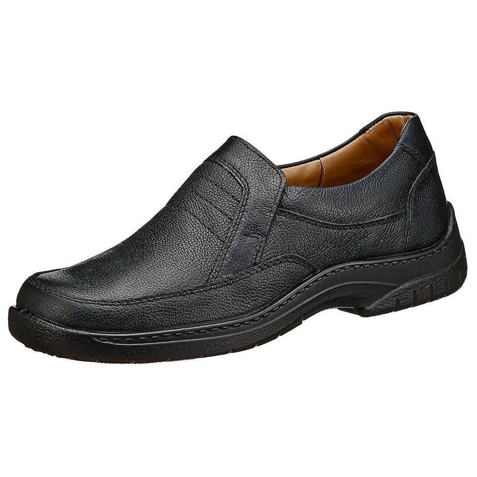 JOMOS Feetback Slipper in schwarz