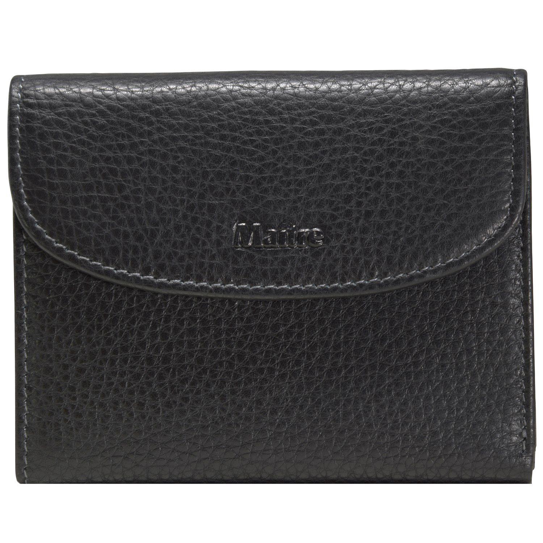 Maître Prado Geldbörse Leder 12 cm
