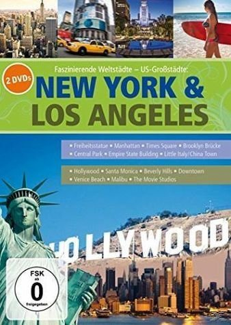 DVD »New York & Los Angeles - Faszinierende Weltstädte«