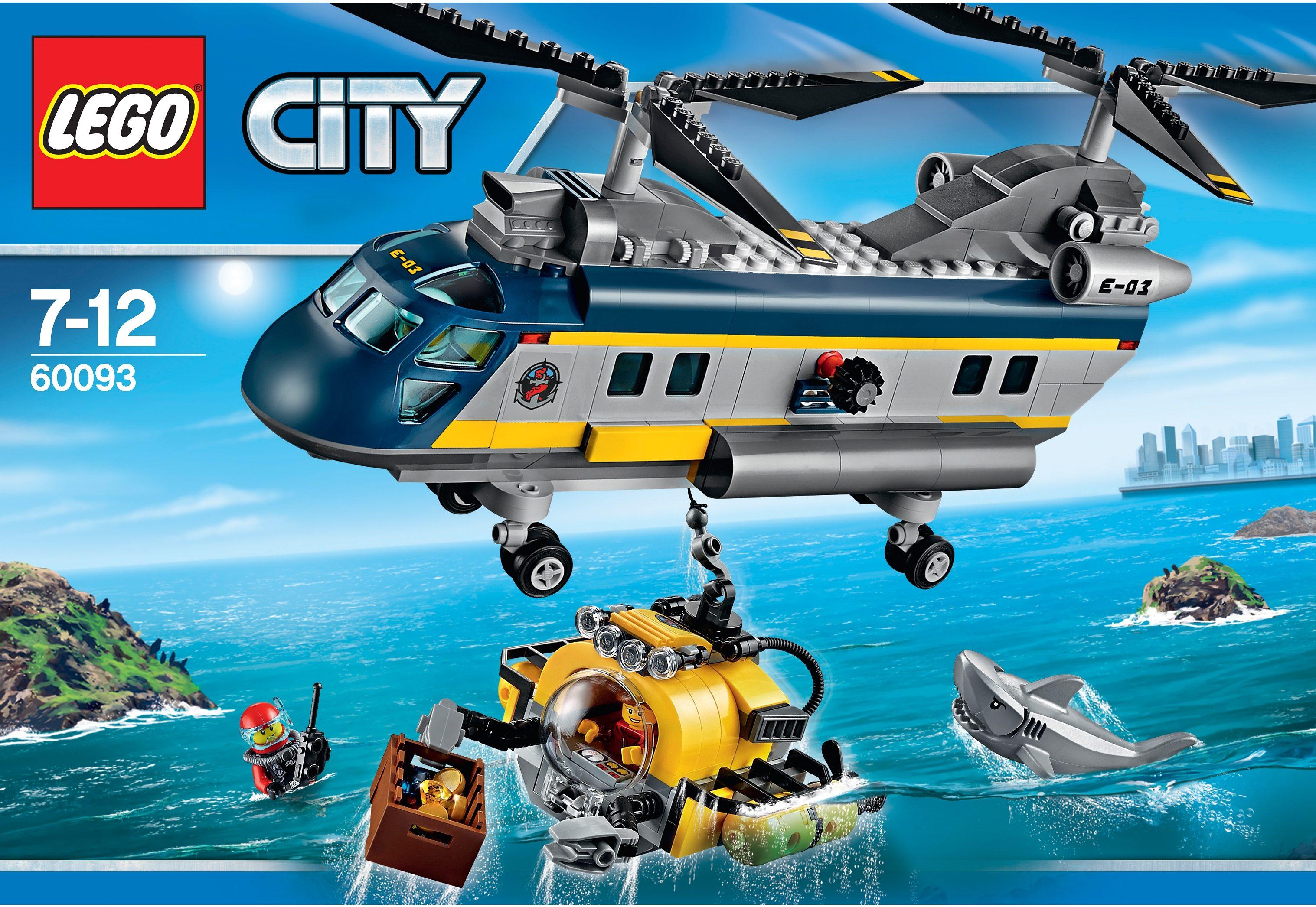 LEGO® Tiefsee-Helikopter (60093), »LEGO® City«