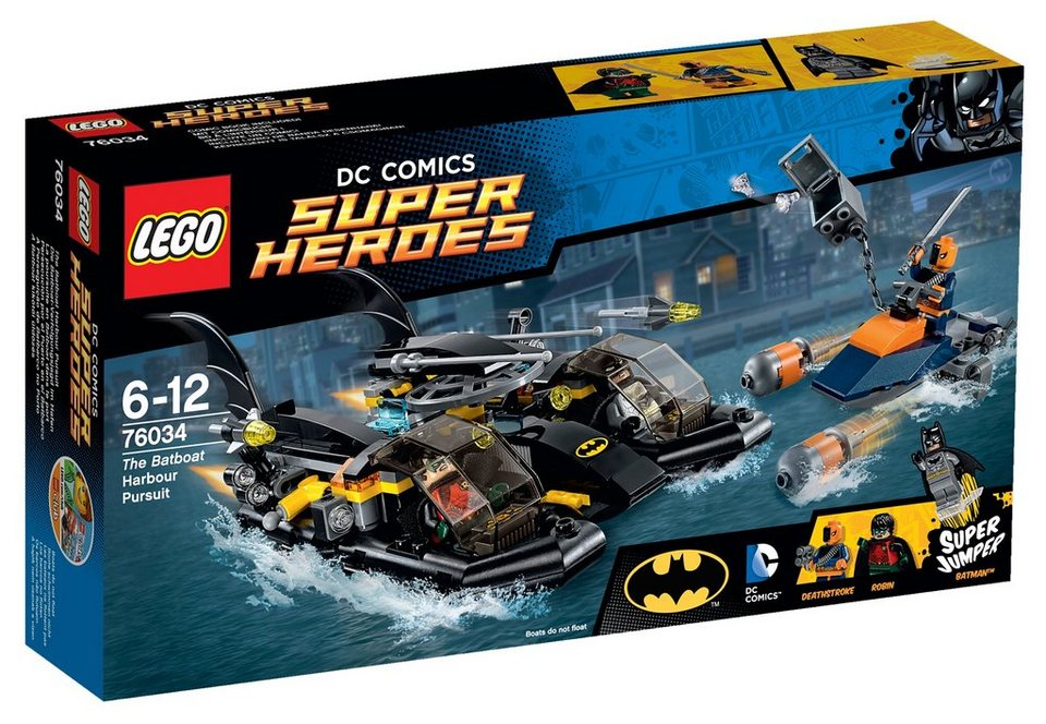 LEGO® Die Batboat-Verfolgungsjagd im Hafen (76034), »LEGO® DC Comics Super Heroes«