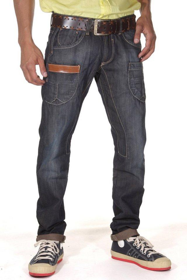 Bright Jeans FASHION Hüftjeans in blau