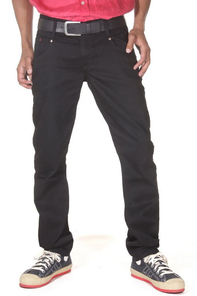Bright Jeans Hüftjeans (stretch) straight fit in schwarz