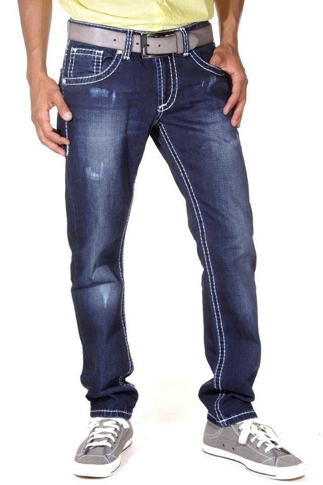 Bright Jeans Hüftjeans in dunkelblau