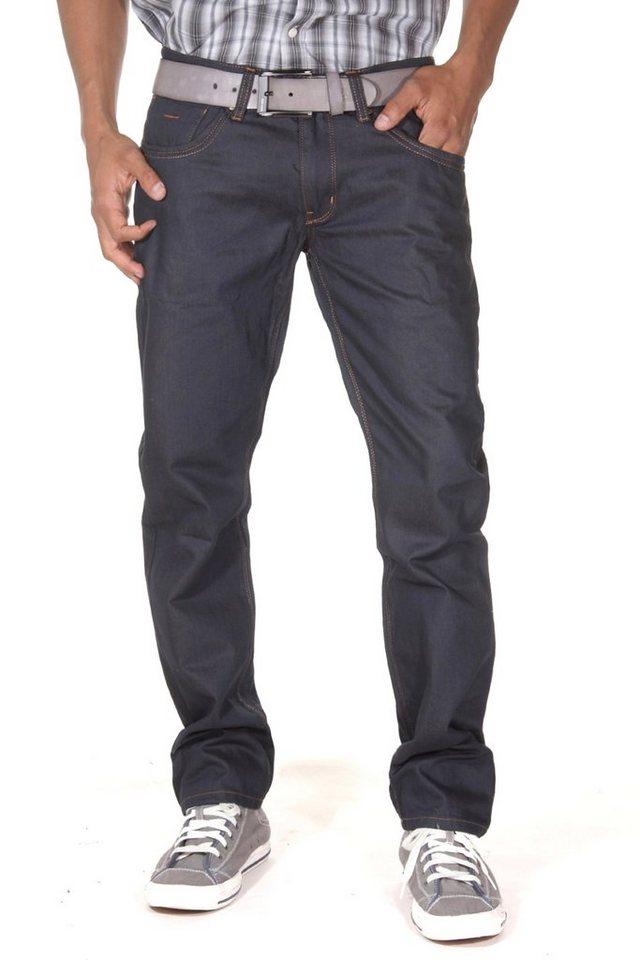 Bright Jeans Hüftjeans business in dunkelblau