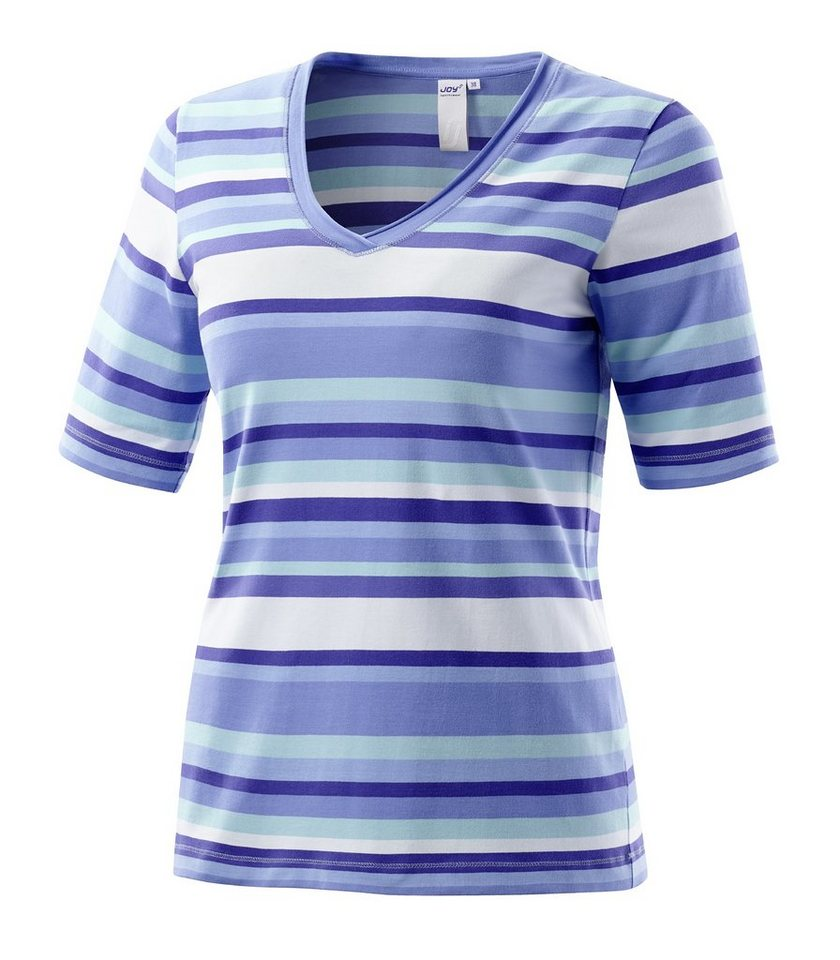 JOY sportswear T-Shirt »AKEMI« in adria stripes