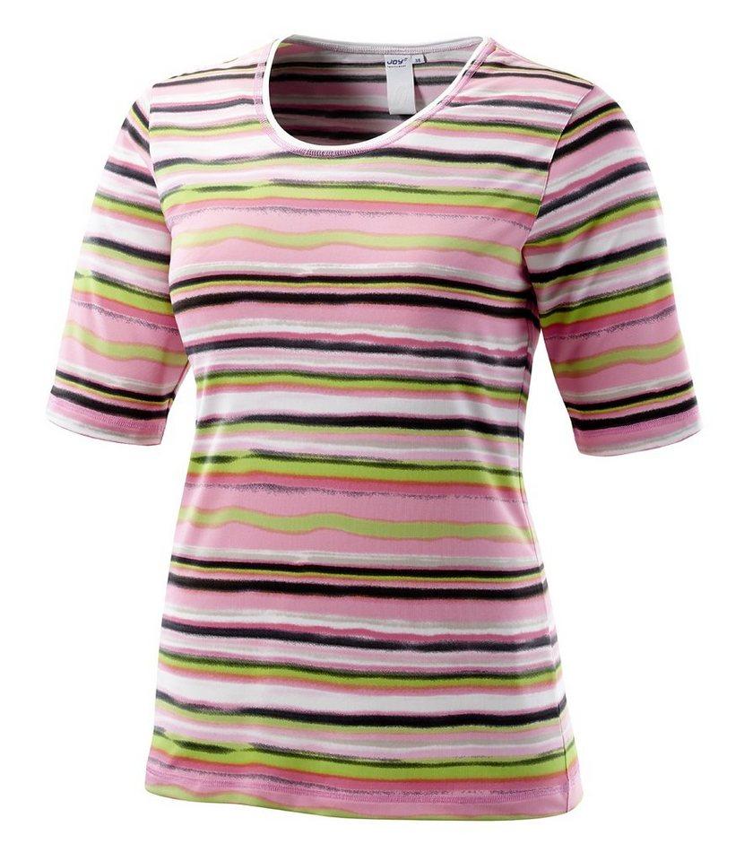 JOY sportswear T-Shirt »ADELINA« in melba stripes
