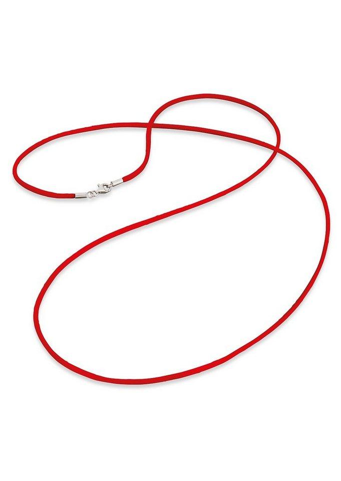 Engelsrufer, Satinband, »ERN-SI-05« in rot