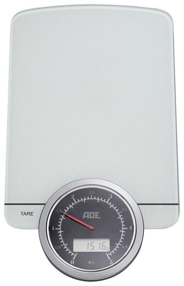 ADE Digitale Küchenwaage »KE1500 Alba« in weiß