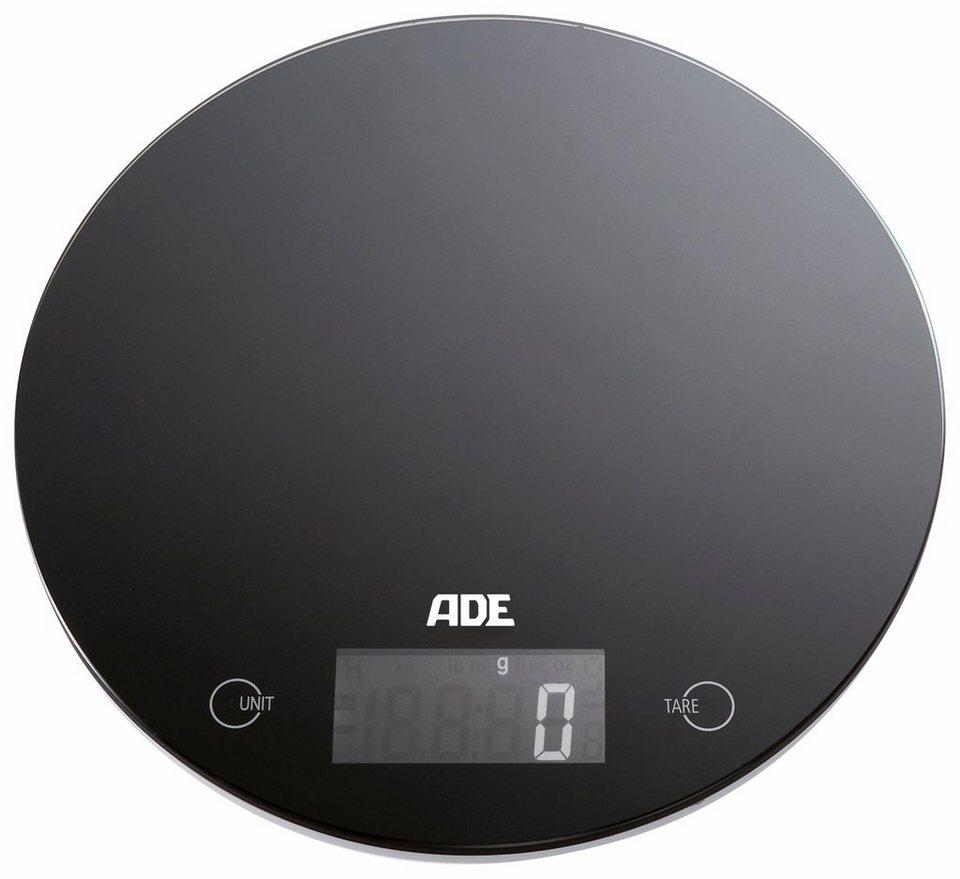 ADE Digitale Küchenwaage »KE867 Molly« in schwarz