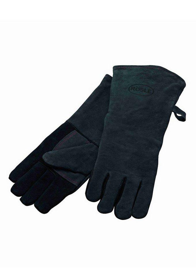 RÖSLE Grillhandschuhe in schwarz