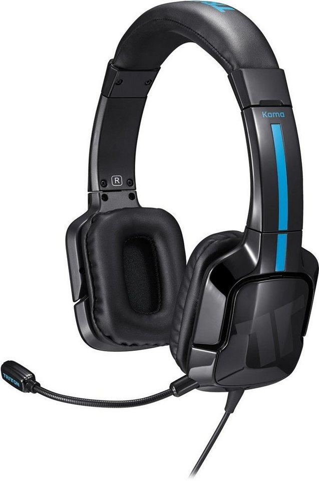 Mad Catz Headset Tritton Kama Stereo Schwarz für PS 4 & PS Vita »(PS4 PS-Vita)«