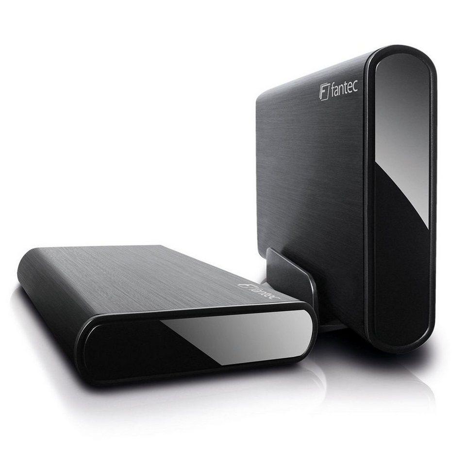 FANTEC Festplattengehäuse »DB-ALU3-6G schwarz USB 3.0 (1659)« in schwarz
