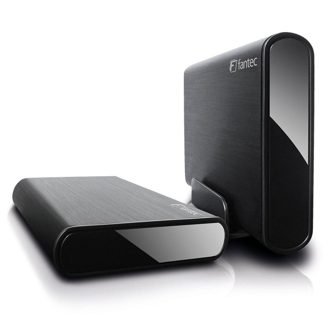 FANTEC Festplattengehäuse »DB-ALU3-6G schwarz USB 3.0 (1659)«