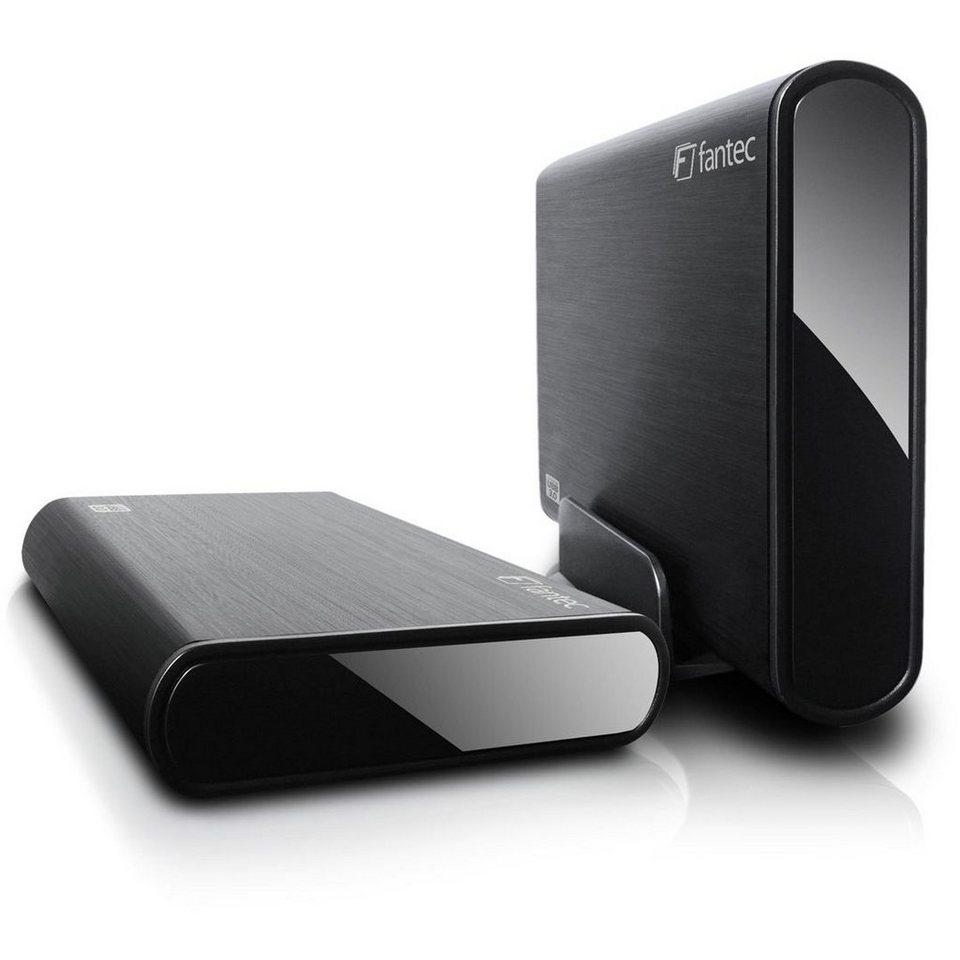 FANTEC Festplattengehäuse »DB-ALU3 schwarz USB3.0 (1434)« in schwarz