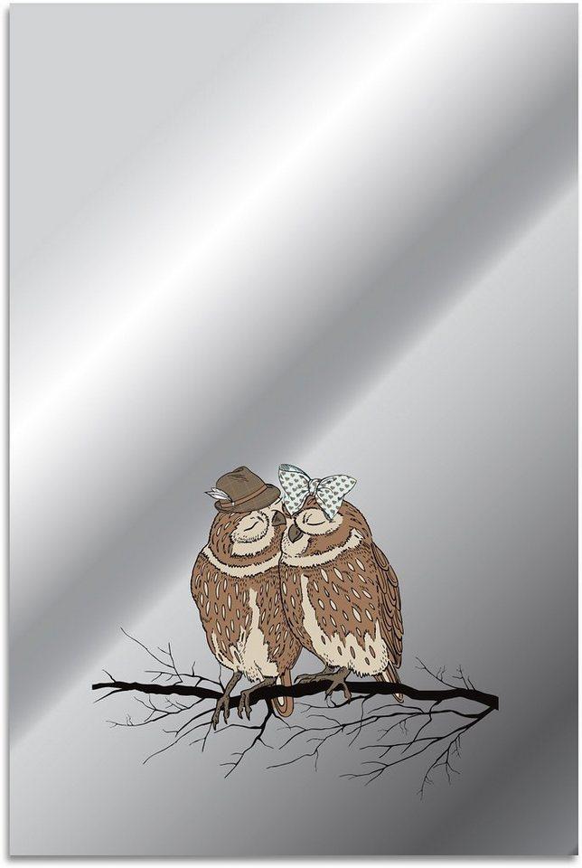 Home affaire, Spiegel, »Vögelchen«, 40/60 cm in braun