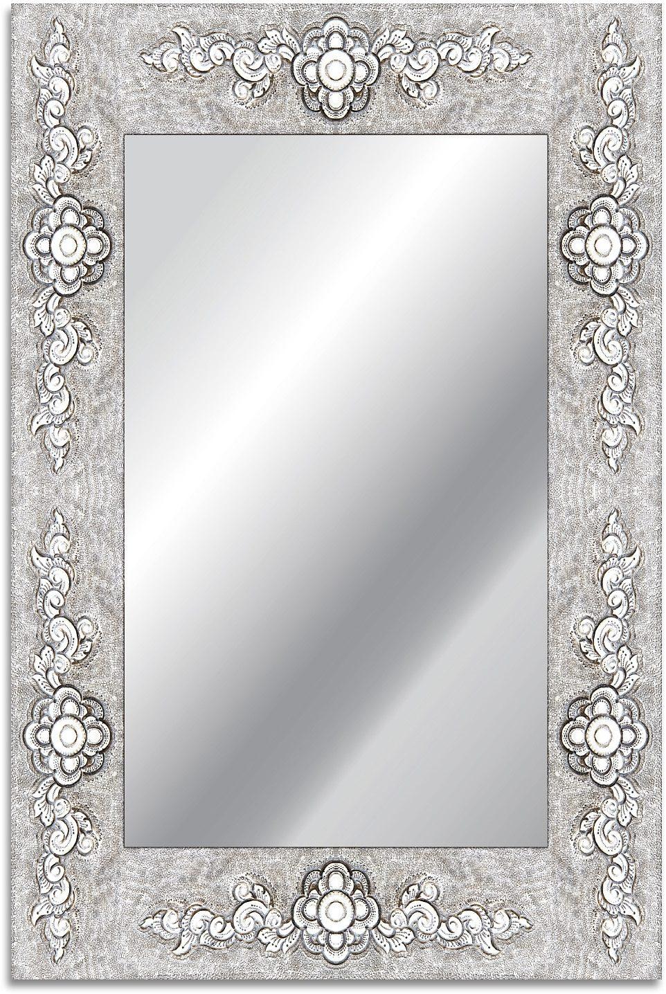home affaire spiegel rahmen blume 40 60 cm otto. Black Bedroom Furniture Sets. Home Design Ideas