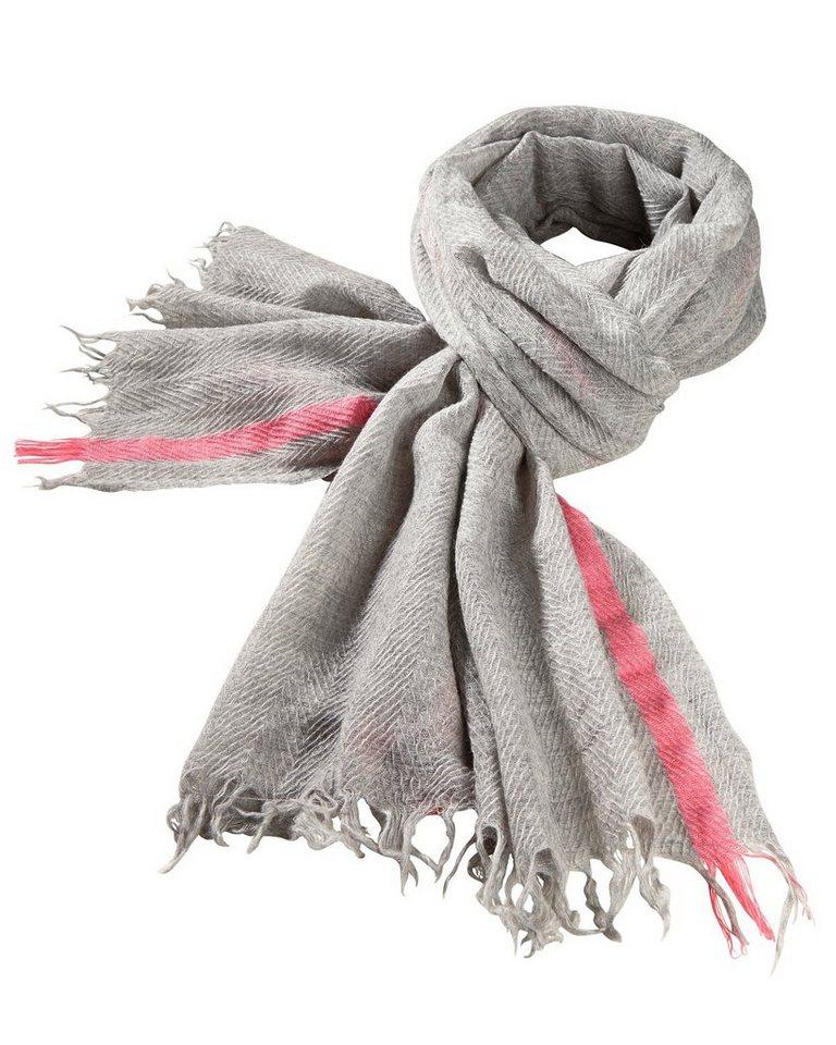 Codello Schal in Grau/Pink