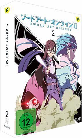 DVD »Sword Art Online - 2. Staffel - Box Vol.2 (2...«