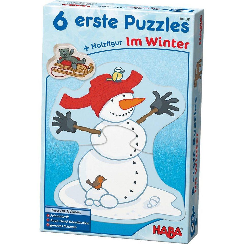 Haba 6 erste Puzzles - Im Winter