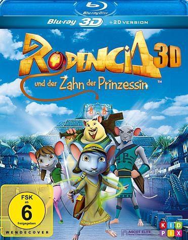 Blu-ray »Rodencia und der Zahn der Prinzessin (Blu-ray 3D)«