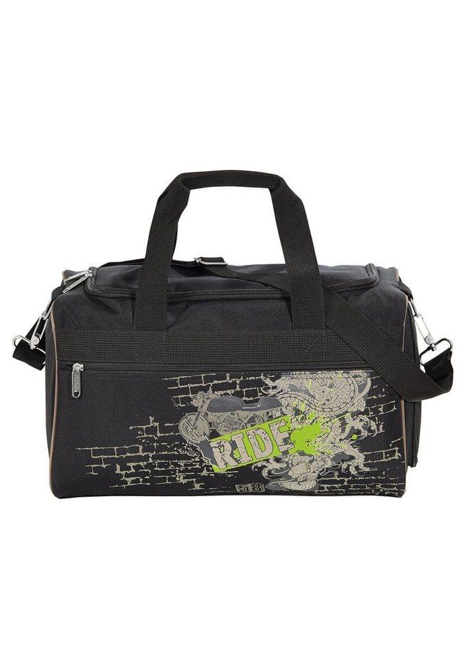 4YOU Tasche, »Freizeittasche M - Ride« in schwarz