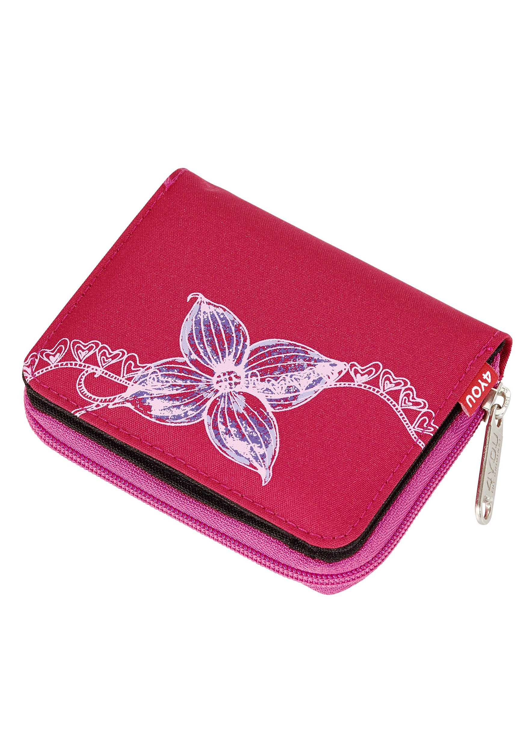4YOU Geldbörse, »Zipper Wallet - Flower Lace«
