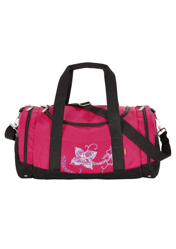 4YOU Tasche, »Freizeittasche Function - Flower Lace« in rot