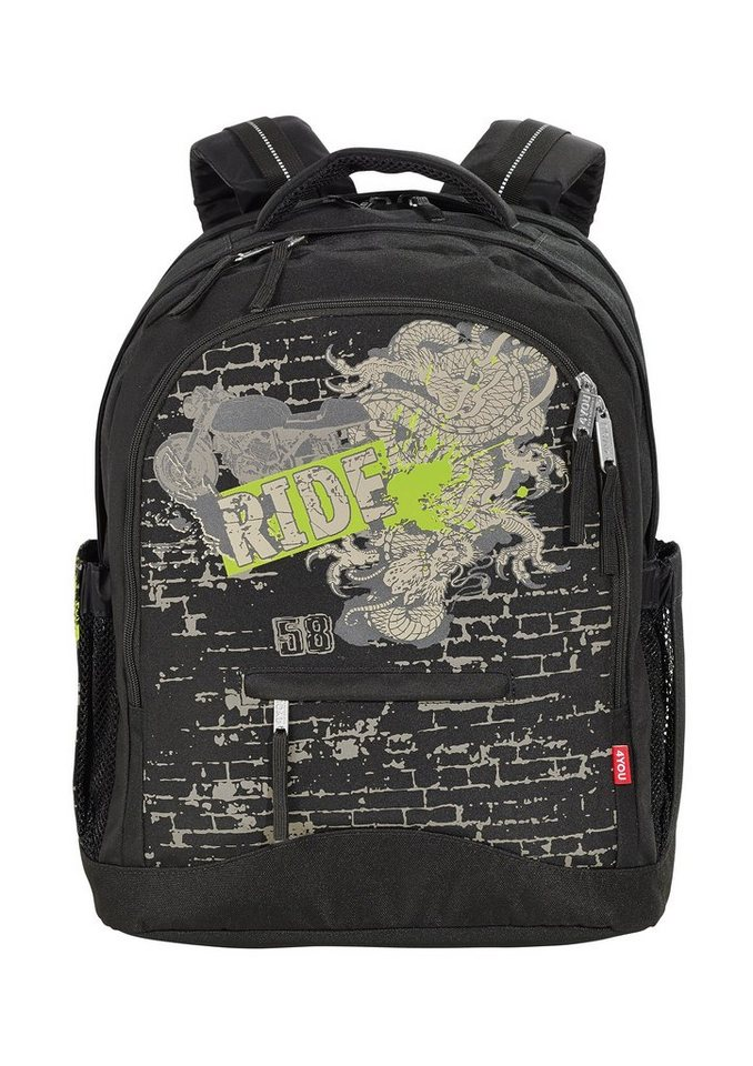 4you schulrucksack rucksack compact ride otto. Black Bedroom Furniture Sets. Home Design Ideas