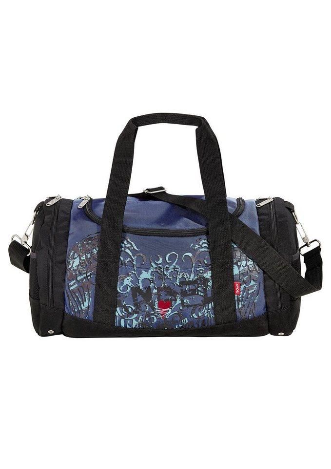4YOU Tasche, »Freizeittasche Function - Angel Heart« in blau