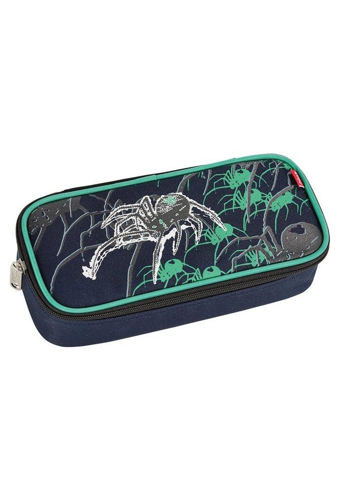 4YOU Mäppchen mit Geodreieck®, »Pencil Case - Spider« in schwarz