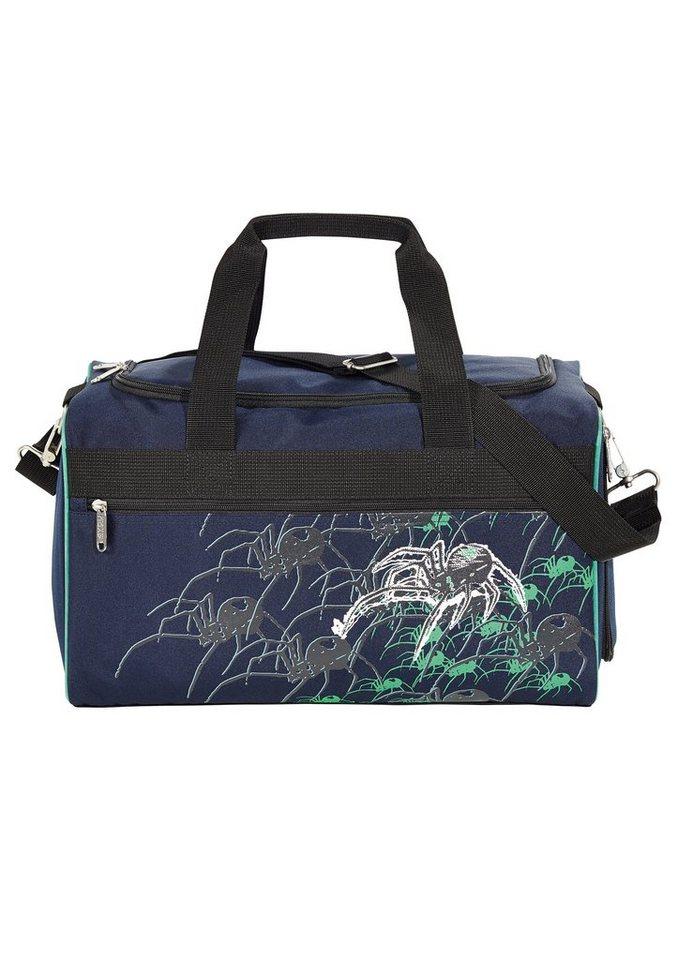 4YOU Tasche, »Freizeittasche M - Spider« in blau